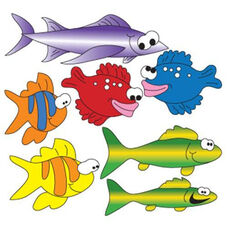 School Of Fish Wall Sticker- Right