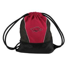 University of Arkansas Team Logo Spring Drawstring Backsack