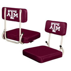 Texas A&M University Team Logo Hard Back Stadium Seat