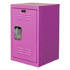 Bubble Gum Pink Kids Mini Locker - Unassembled - 15