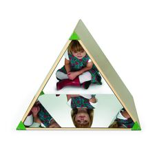 Safe Acrylic Triangle Mirror Tent with Three Panels of Mirrors