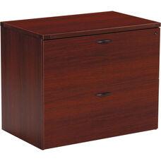 OSP Furniture Napa Lateral File - Mahogany