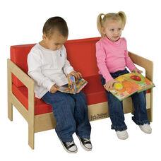 Birch Hardwood Preschool Living Room Set Sofa with 2