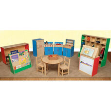 Healthy Kids trade; Multi-Colored School Furniture Package - Set of 11