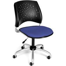 Stars Swivel Chair - Colonial Blue