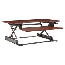 OSP Furniture Napa Desk Riser  - Mahogany
