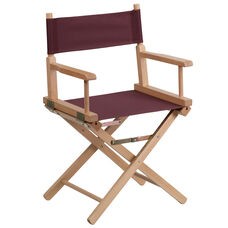 Standard Height Directors Chair in Brown