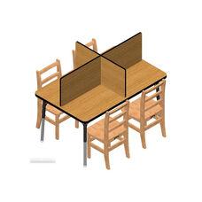 30W x 48L - Study Carrels