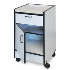 Smart Carts™ and Bedside Mobile Cabinet with One Drawer