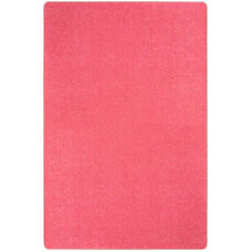 Kid Essentials Just Kidding Polyester Rug with Actionbac Backing - Hot Pink - 144''W x 180''D