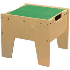 LEGO™ Compatible Reversible Table with Green Top - Unassembled - 18.63