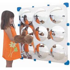 9 Bubble Wall Hung Maxi Mirror