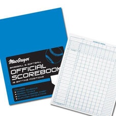 MacGregor® Baseball and Softball Scorebook