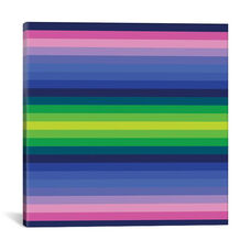 Flow Neon IV by Greg Mably Gallery Wrapped Canvas Artwork