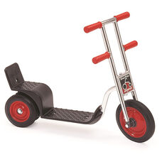Silver Rider Skitter Scooter with Spokeless Solid Rubber Wheels