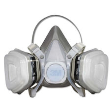 3M Dual Cartridge Respirator Assembly 52P71 - Organic Vapor/P95 - Medium