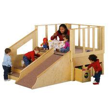 Tiny Tots Loft Playhouse
