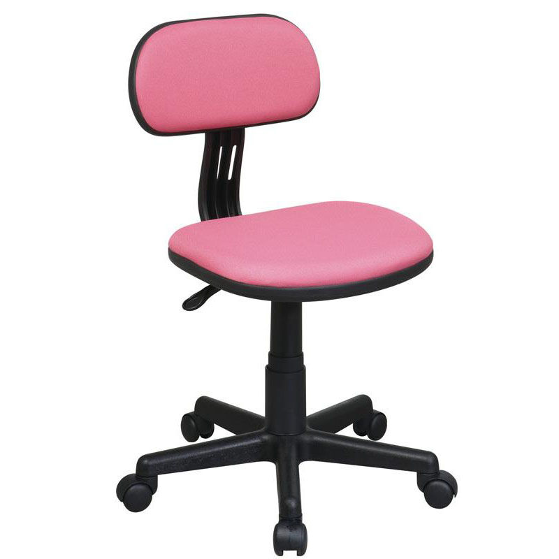 Beau ... Our OSP Designs Armless Computer Task Chair With Seat Height Adjustment  And Casters   Pink Is ...