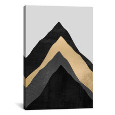 Four Mountains by Elisabeth Fredriksson Gallery Wrapped Canvas Artwork