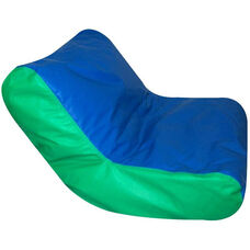 Blue/Green School Aged High Back Seating