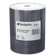 Verbatim 16X Datalifeplus Inkjt Hub Prntble Dvd-Rs - Pack Of 100