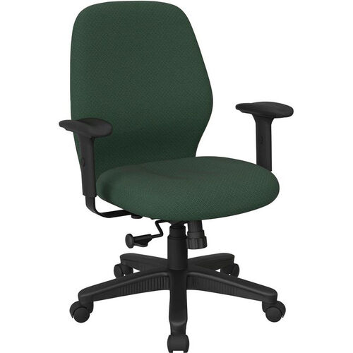 Our Work Smart 2-to-1 Synchro Tilt Managers Chair with 2-Way Adjustable Soft Padded Arms is on sale now.