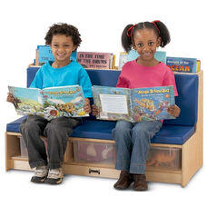 Literacy Couch with Book Storage