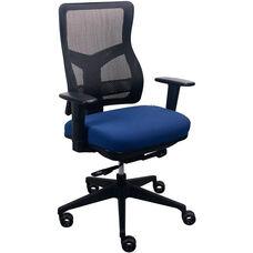 Tempur-Pedic® Spring Task Chair with Mesh Back - Night Sea