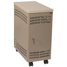 CPU Large Mobile Locker - Bone White