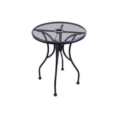Outdoor Wrought Iron Table with 24