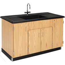 Science Lab Wooden Clean Up Sink with 1