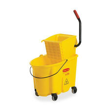 Rubbermaid Commercial Products Mop Bucket/Wringer Combination - 21.2