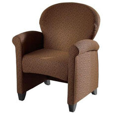 Essence Lounge Chair with Wood Legs