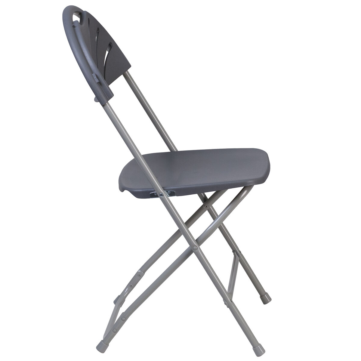 Charcoal plastic folding chair le l 4 ch gg for Furniture 4 schools