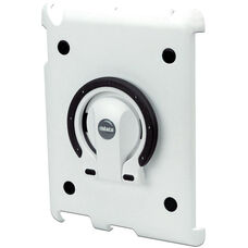 MultiStand for Various Generation iPads - White Shell with White and Black Ring