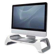 Fellowes® I-Spire Series Monitor Lift Riser - 8 7/8 x 20 x 4 7/8 - White/Gray