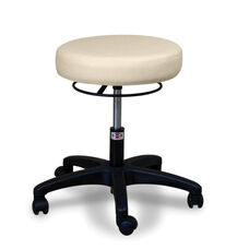 Economy Air Lift Adjustable Height Short Air-Lift Stool with Ring Control