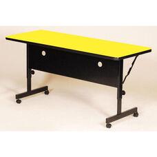Adjustable Height Rectangular Deluxe High-Pressure Flip Top Table - 24