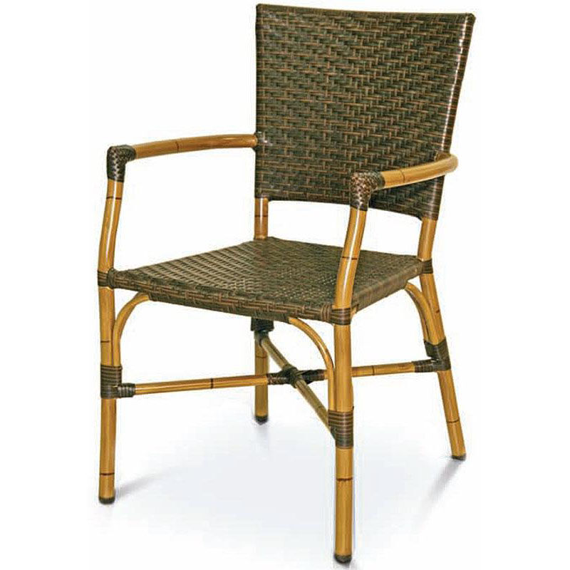 ... Our Havana Collection Safari Bamboo Stackable Outdoor Arm Chair Is On  Sale Now.