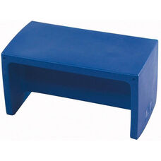 Blue Indoor/Outdoor Polyethylene Adapta-Bench