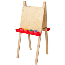 Double Adjustable Easels with Solid Maple Legs - 20