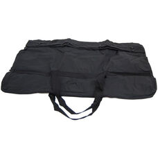 Large Nylon Presentation Easel Storage Bag with Shoulder Strap - Black