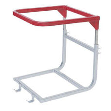 Computer or Utility Table Steel Frame Lift Attachment with Powder Coated Finish
