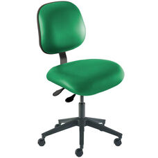 Quick Ship Elite Series Chair Ergonomic Seat and Reinforced Composite Base - Low Seat Height
