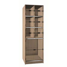 7 Compartment Storage w/Grill Doors