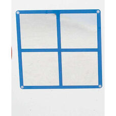 Wall Hung Square Window Mirror - 22.5