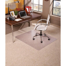 EverLife 60''W Medium Pile Square Straight Edge Anchorbar Chairmat