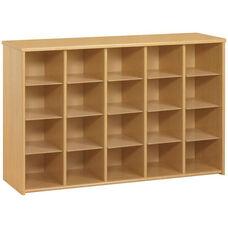 Eco ™ Preschool Size Sectional Storage Unit with 20 Cubbies