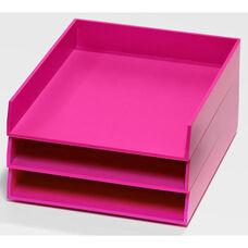 Bright Desk Organizing System 3 Tray Set - Navy