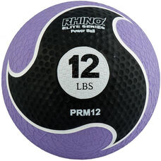 12 lbs. Rhino Elite Medicine Ball in Purple